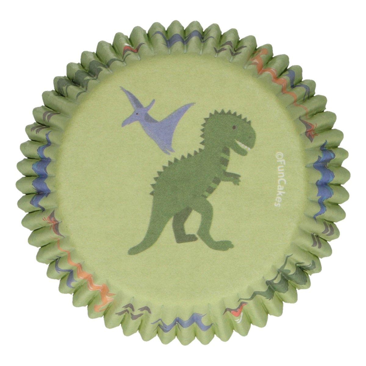 CupCake Förmchen Dino