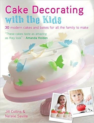 Buch - Cake decorating with the kids
