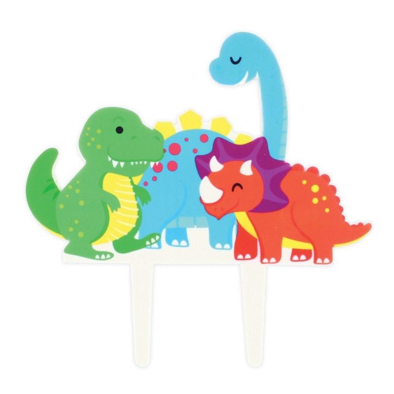 Zucker Cake Topper Dinosaurier