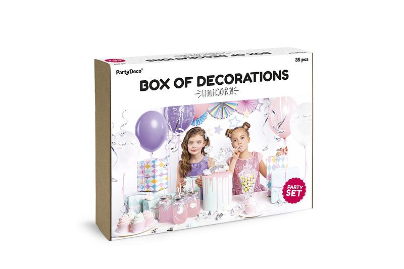 Party Dekorations-Set Einhorn
