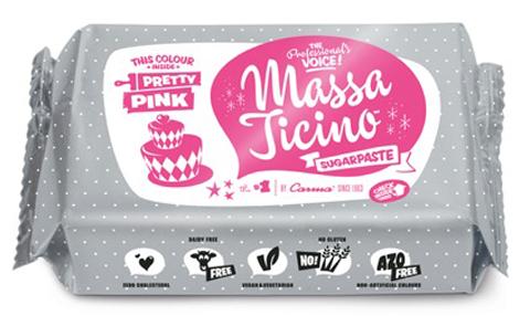 Massa Ticino Tropic 250g rosa