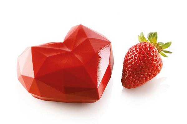 Silikomart Kit Silikonform mit Ausstecher Amorini Origami 110