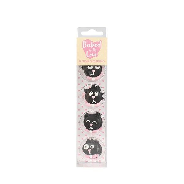 Zuckerdeko Katze