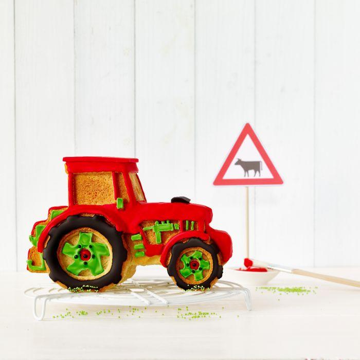 3D Backform  Kalle, der Traktor