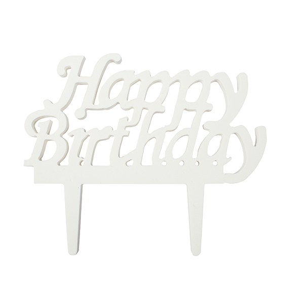 Caketopper Happy Birthday
