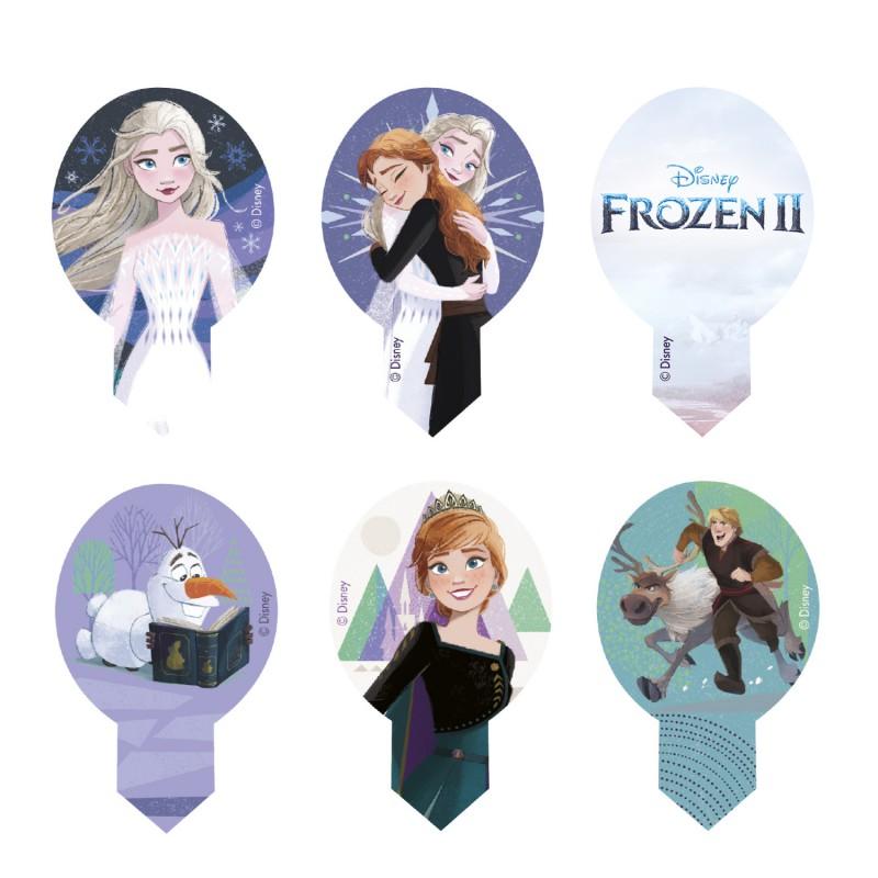 Frozen Eiskönigin Muffinaufleger Oblate   10 Stück