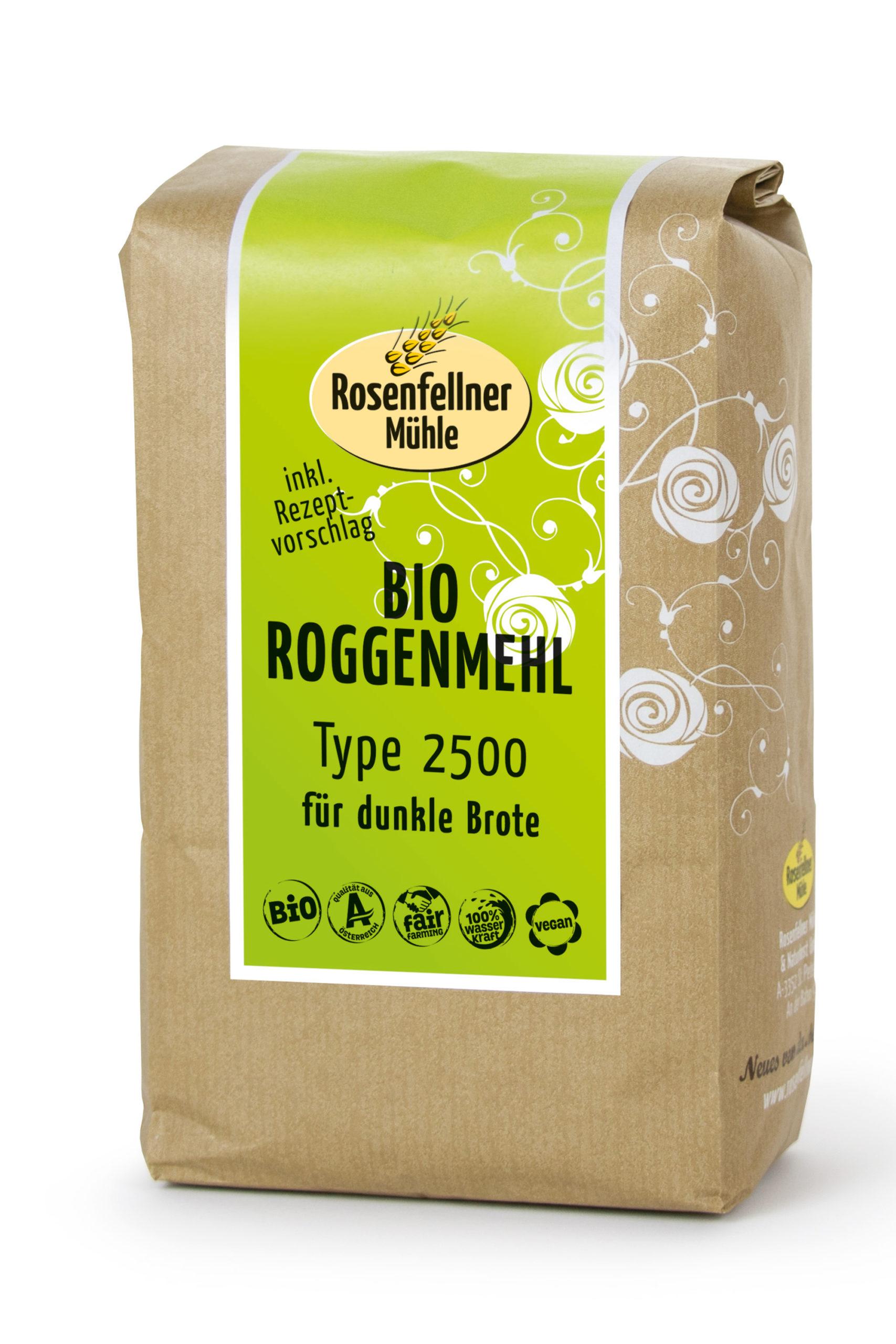 Bio Roggenmehl T2500 750 g