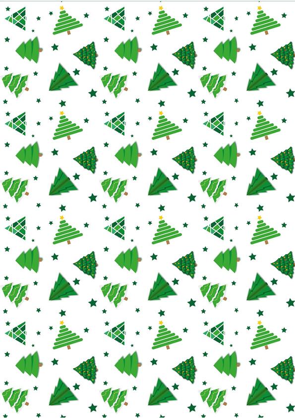 """Rouladendekor """"Weihnachten grün"""""""