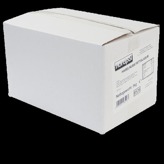 Haselnuss - Fettglasur 5 kg