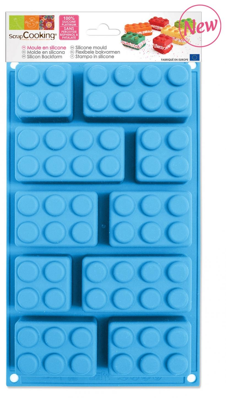 Silikonform Legosteine