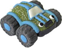 Auto/Geländewagen grün aus Gelee und Zucker
