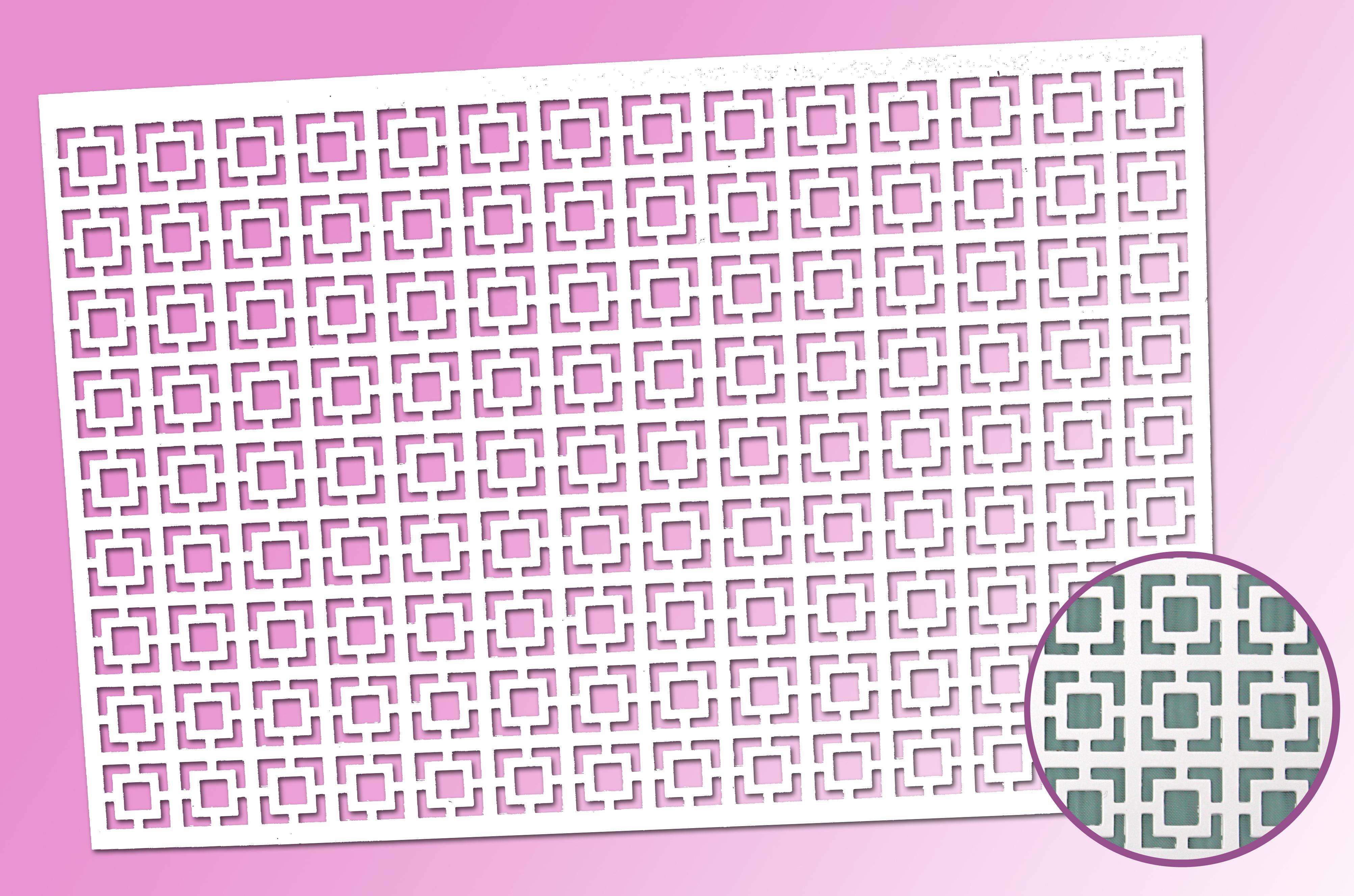Dekorschablone Labyrinth Petit Fours