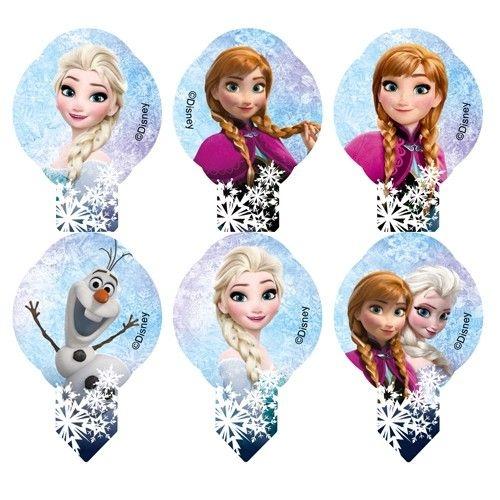 Oblaten Dekoration Frozen Elsa Eiskönigin