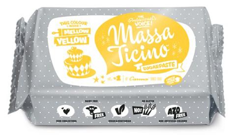 Massa Ticino Tropic 250g gelb