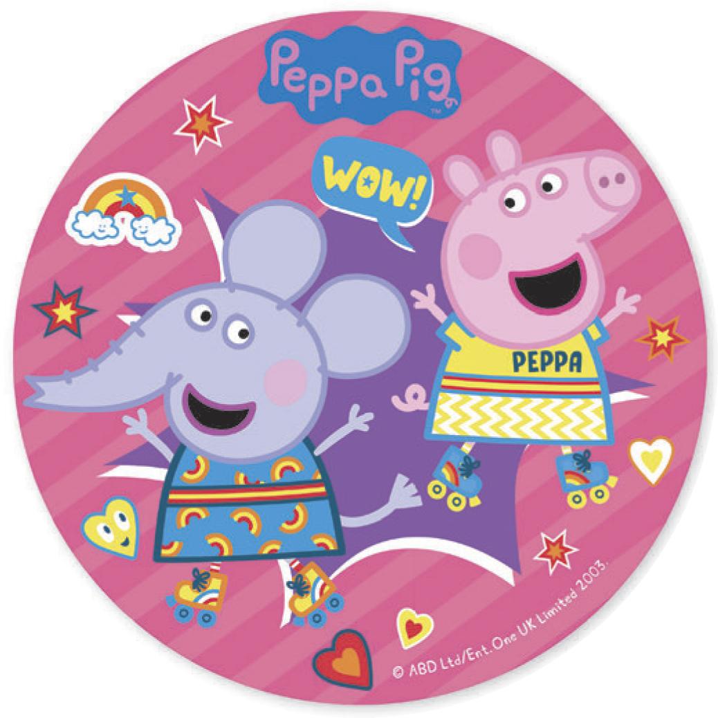 Peppa Pig | Peppa Wutz Tortenbild Oblate 20 cm