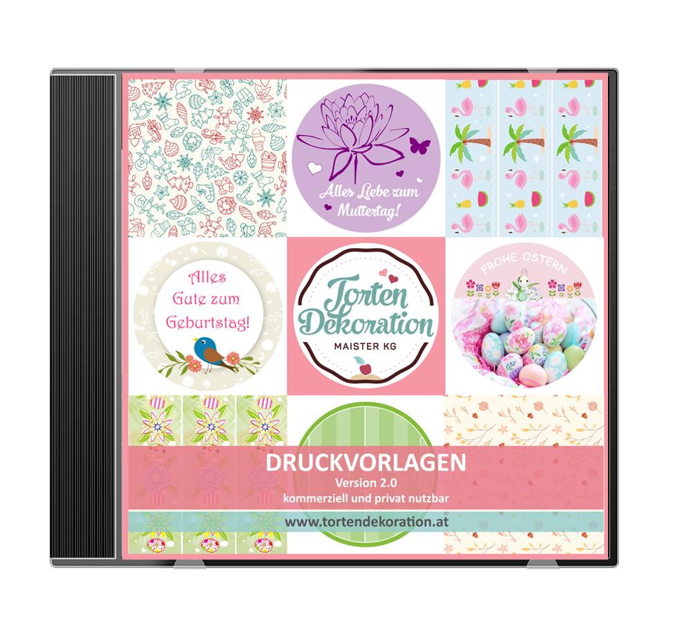 CD Druckvorlagen Download Version 2.0