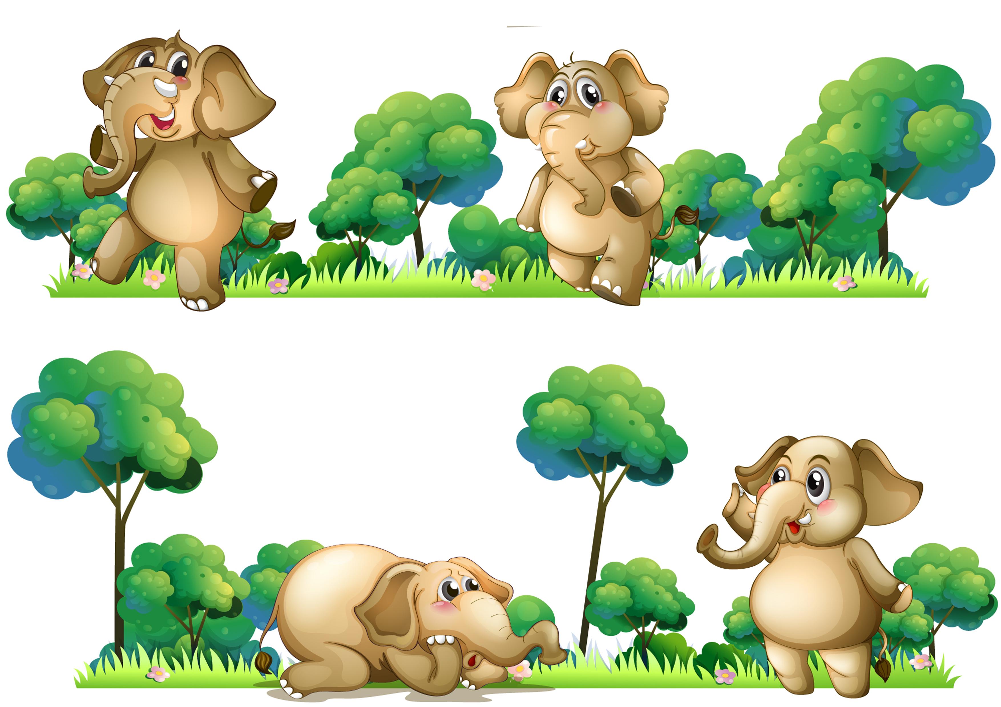 Wafer Paper Elefanten