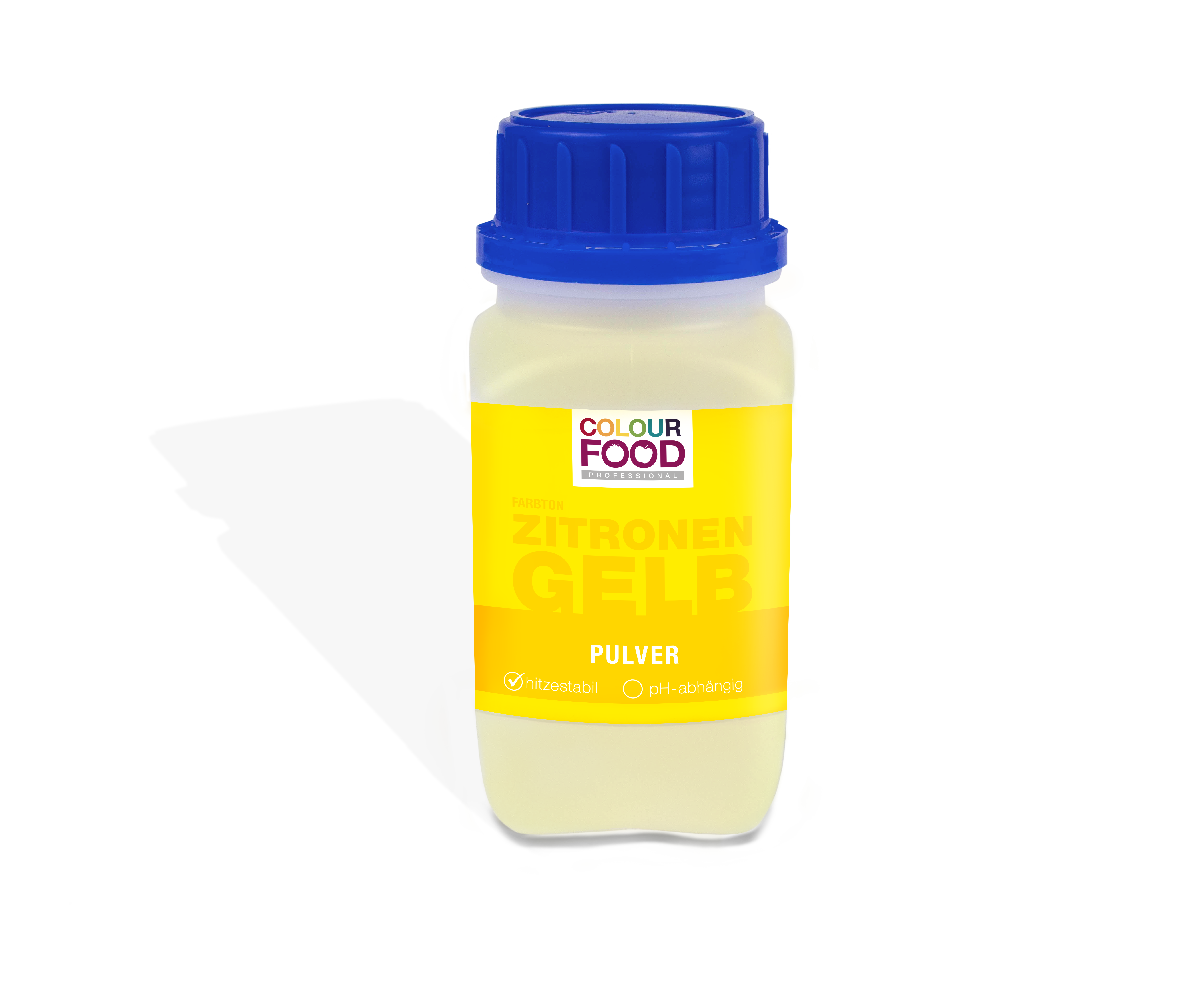 Natürliche Lebensmittelfarbe Pulver AZOfrei Zitronen-Gelb