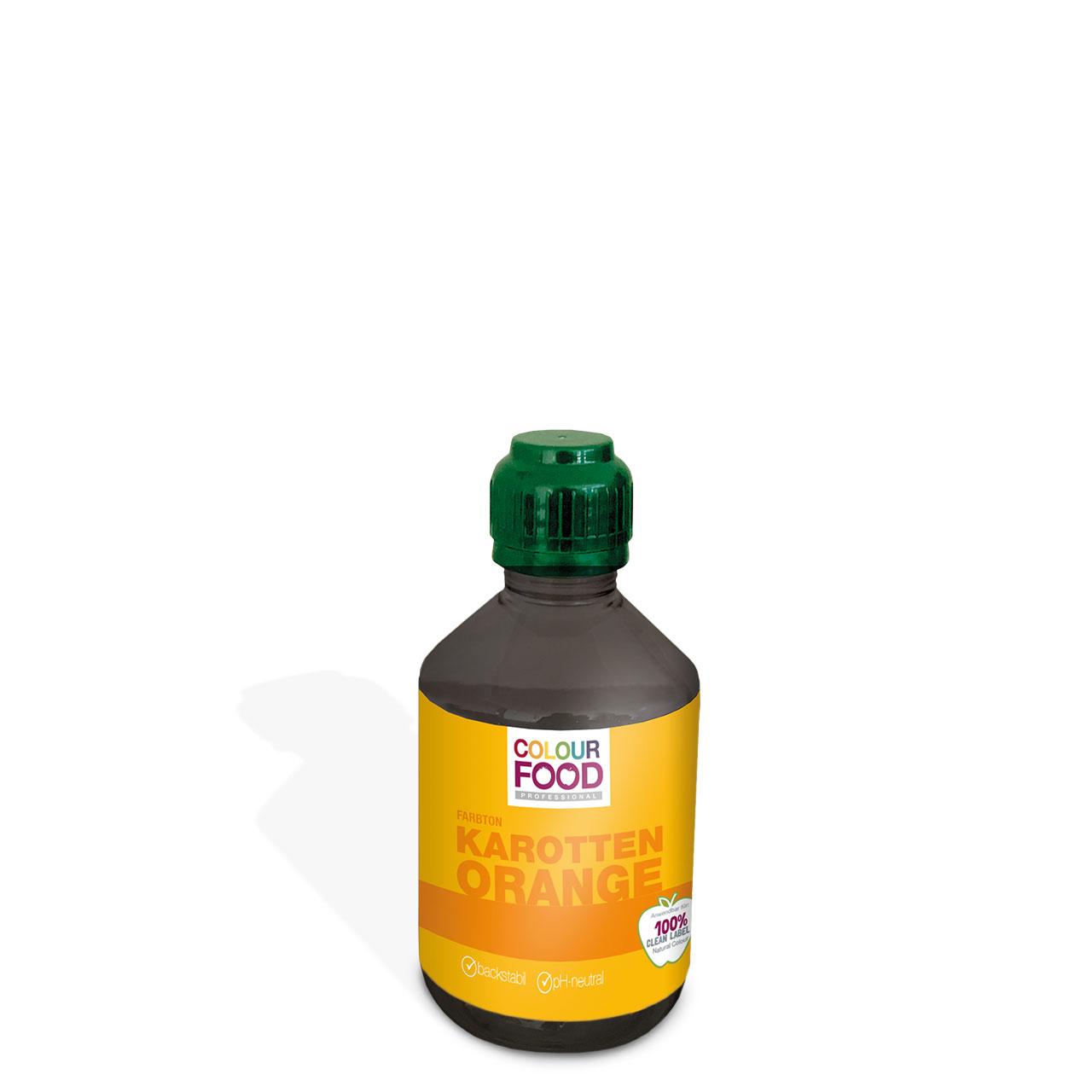 Natürliche Lebensmittelfarbe flüssig AZOfrei  Karotten orange
