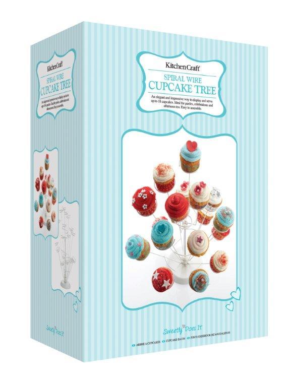 Spiralbaum für Cupcakes