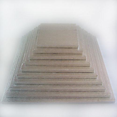 Tortenplatte silber 356x356mm