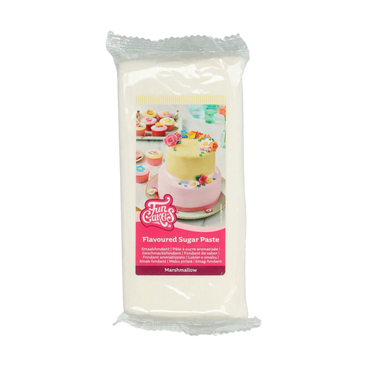 Geschmacksfondant Marshmallow weiß 1 kg