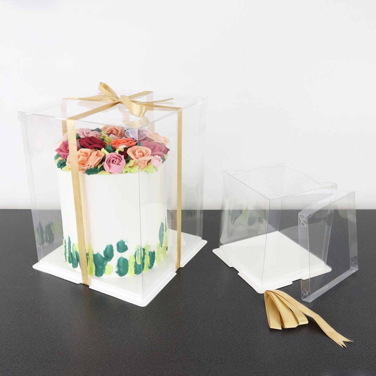 Tortenbox Crystall CCB12 | 32x32x40 cm