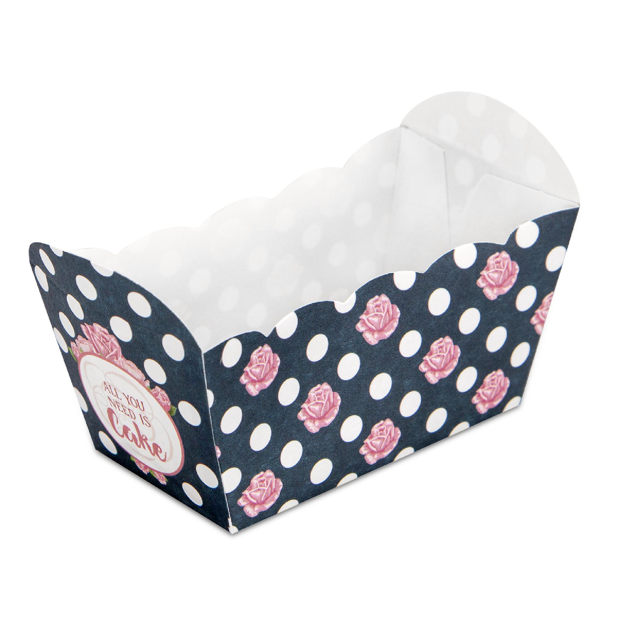 Papier Backform All you Need is a Cake 10 Stück