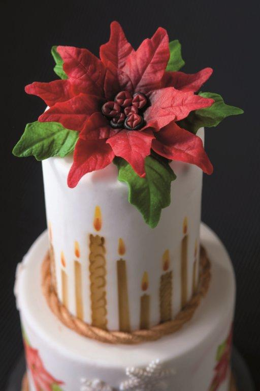 Schablone Kerzen