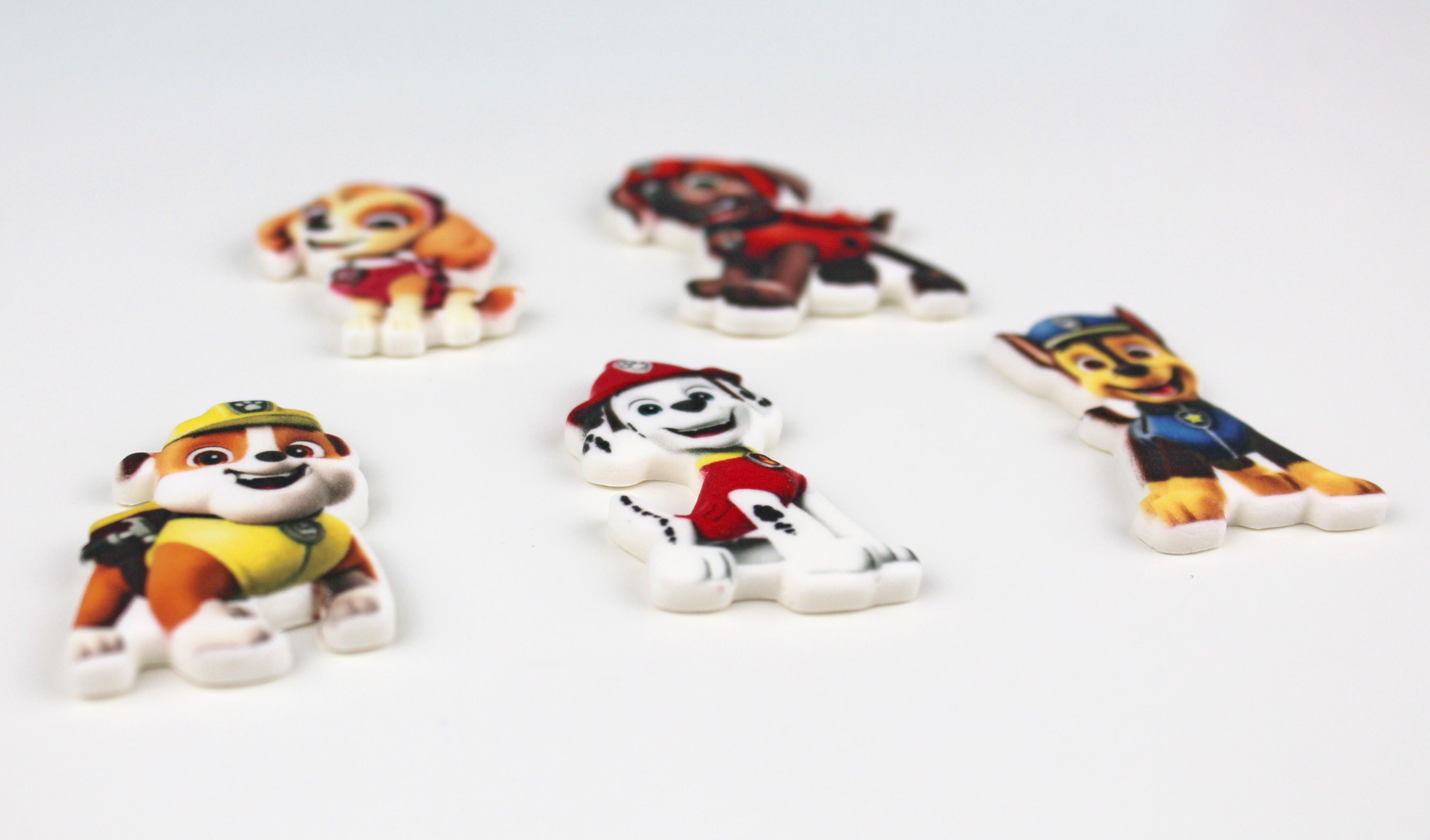 Paw Patrol  Figuren Zuckerdekoration