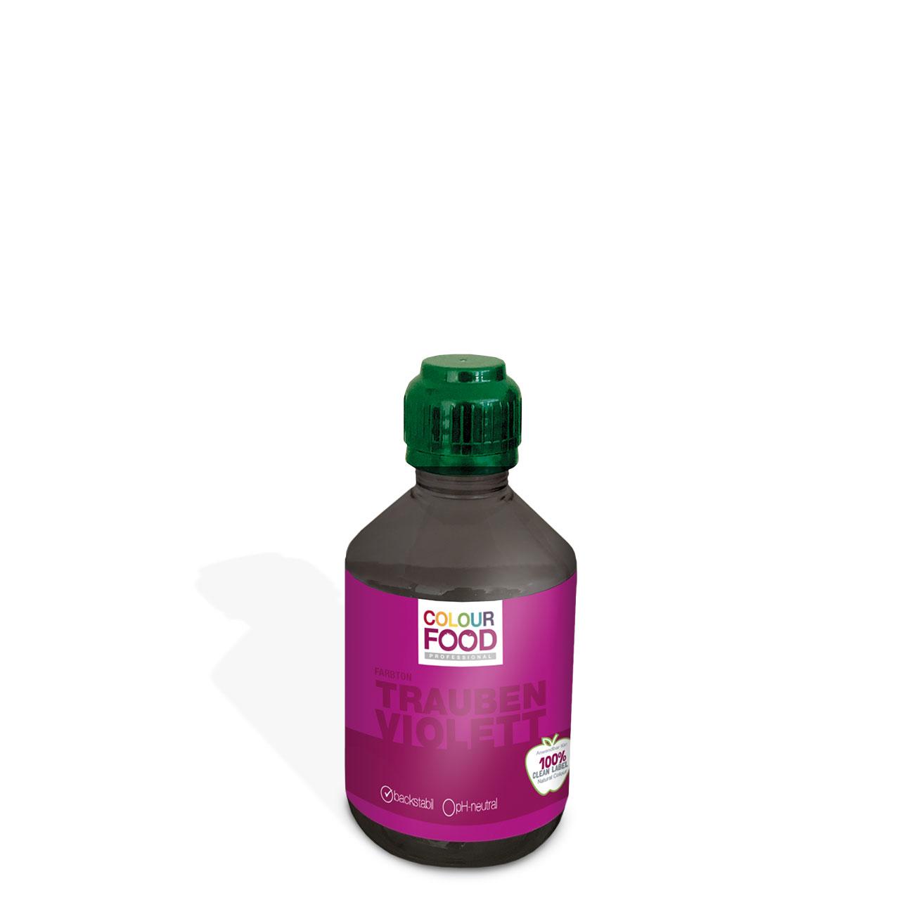 Natürliche Lebensmittelfarbe flüssig AZOfrei Trauben -Violett