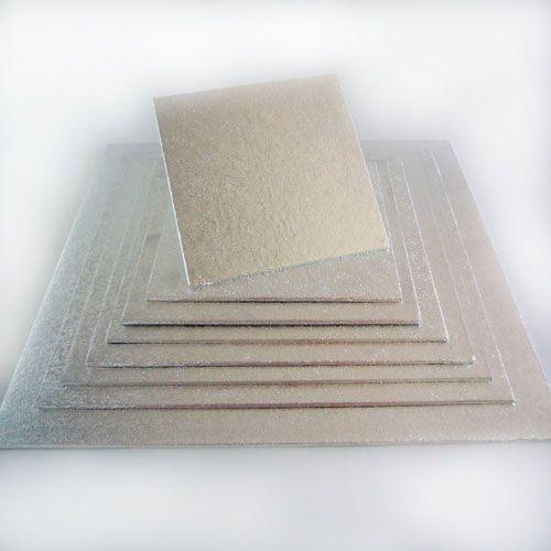 Tortenplatte 20 cm x 20cm 4 mm stark