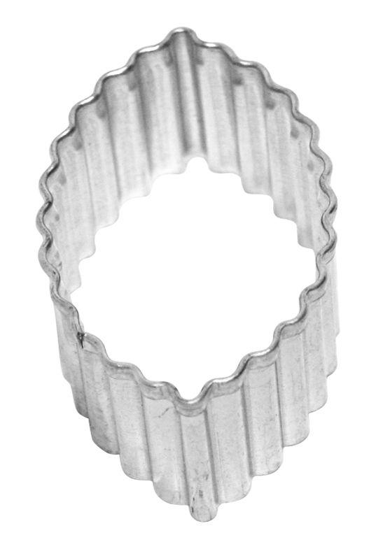 Ausstecher Oval gewellt 5,5 cm