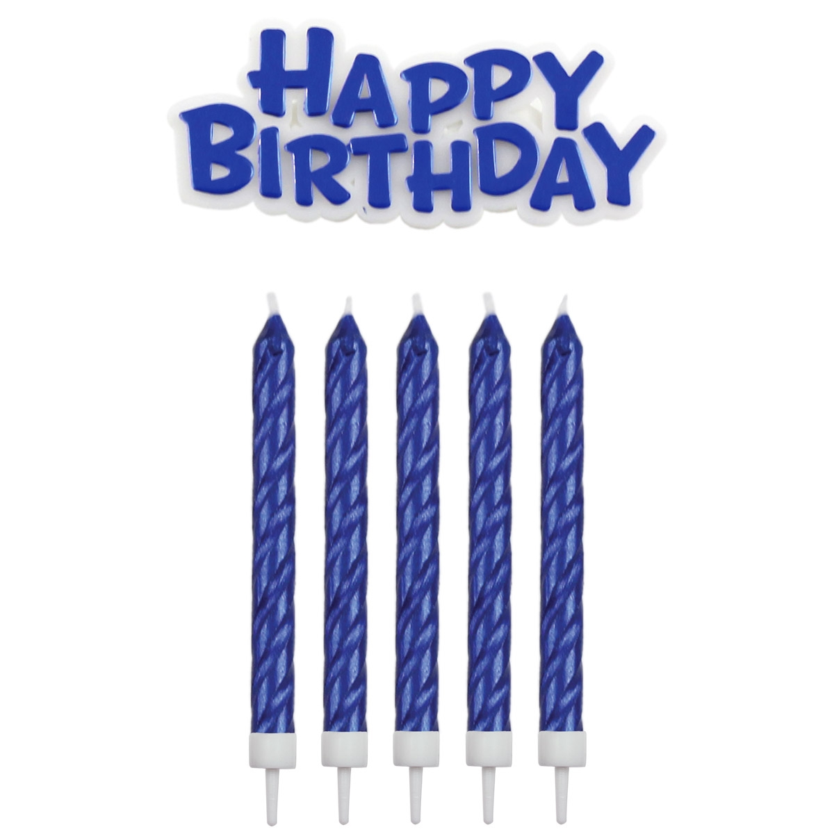 Geburtstagskerzen blau