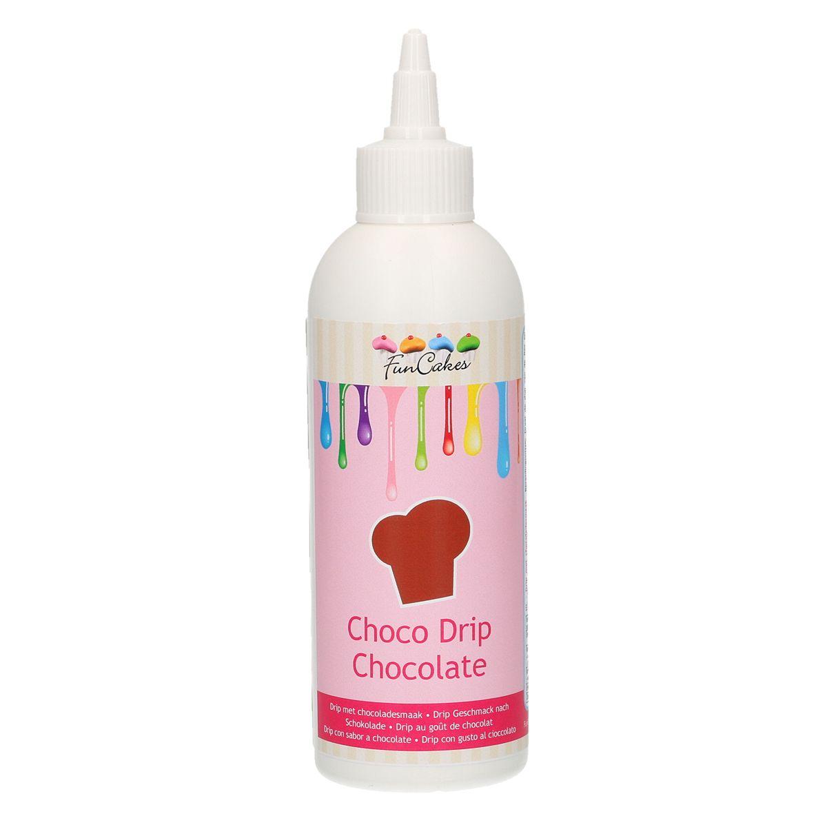 Choco Drip Schokolade in der Tube 180g