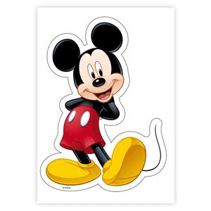 Tortendekoration Oblaten Aufleger Mickey Maus