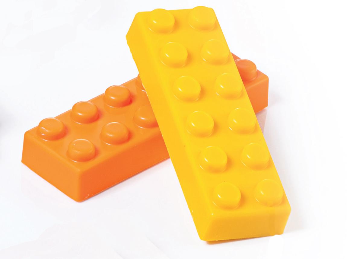 Lego Martellato Polycarbonat MA1918 Profi Gussform für Pralinen