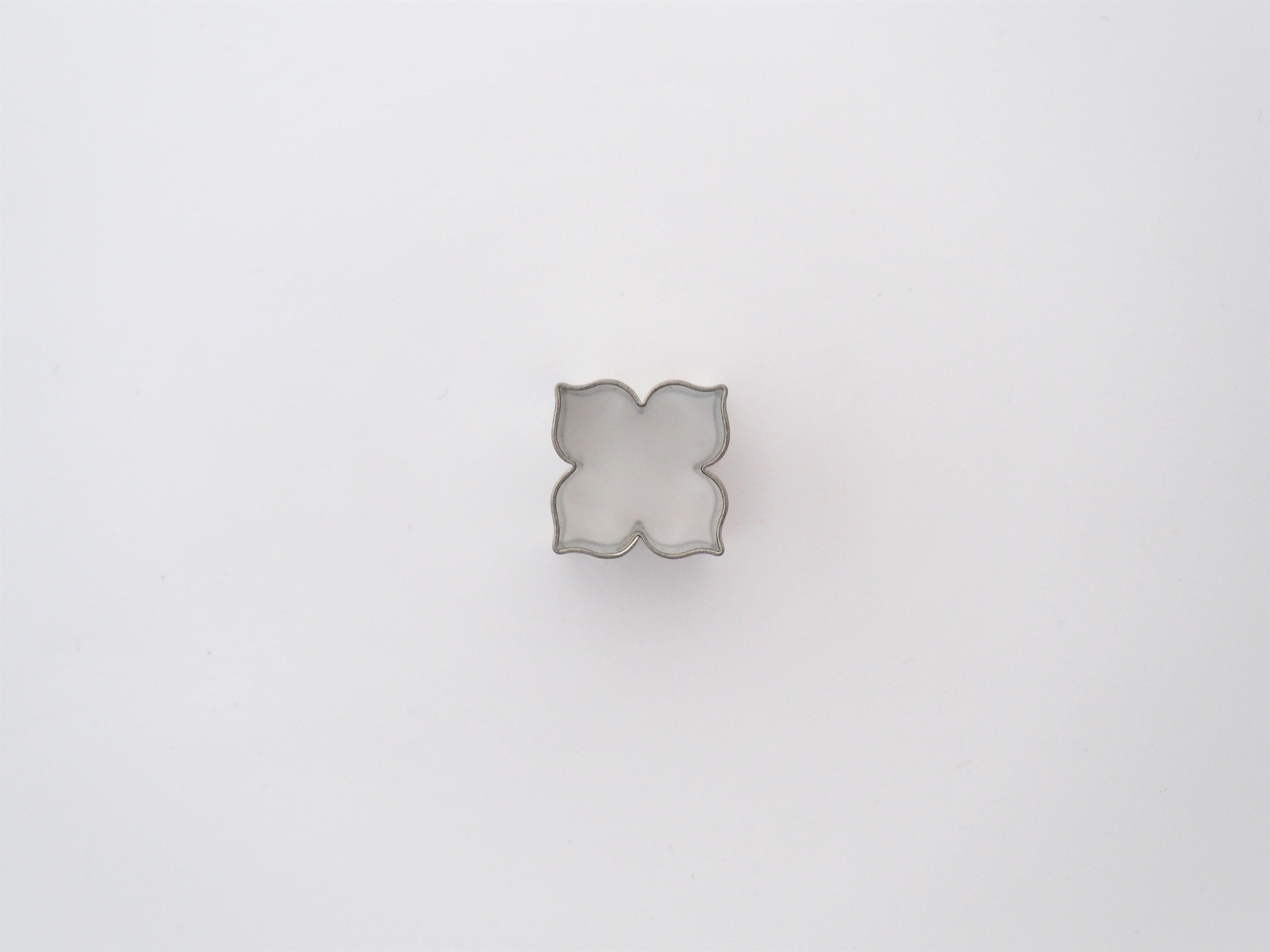 Ausstecher Lilie vierblättrig Mini 2 cm