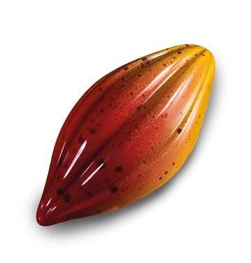 Martellato Polycarbonat MA1018 Profi Gussform Kakaobohne für Pralinen