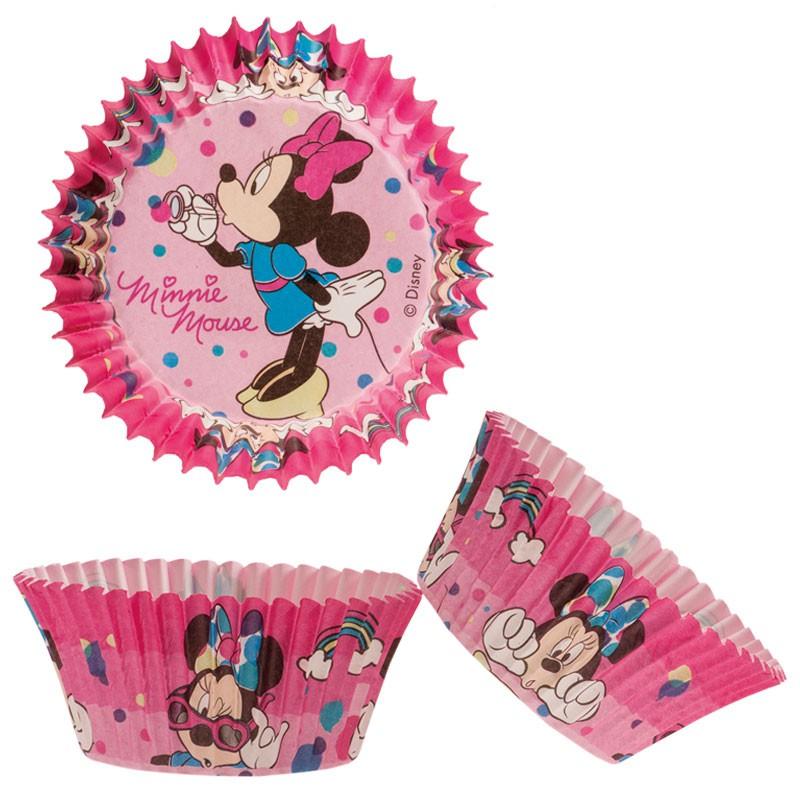 Cupcake Papier Förmchen Minnie Maus 5 cm