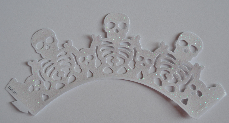 Wilton Cupcake Wraps Skelette