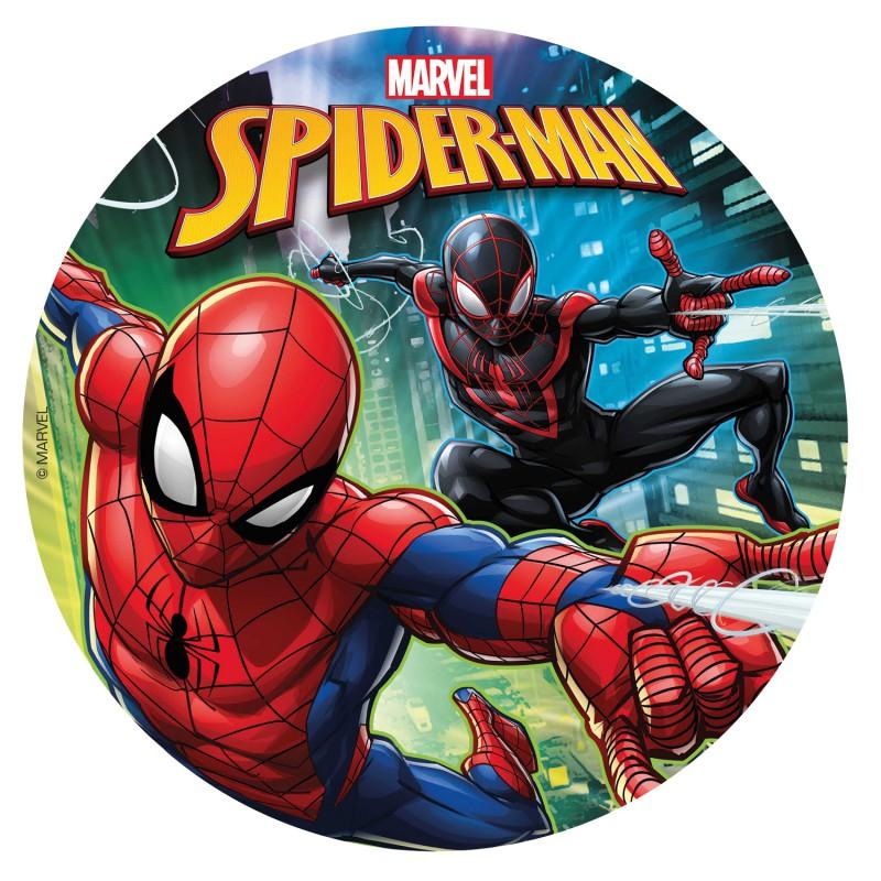 Spiderman Tortenbild 20 cm | zuckerfrei