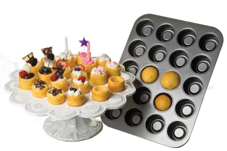 Mini Cake Cups Backblech