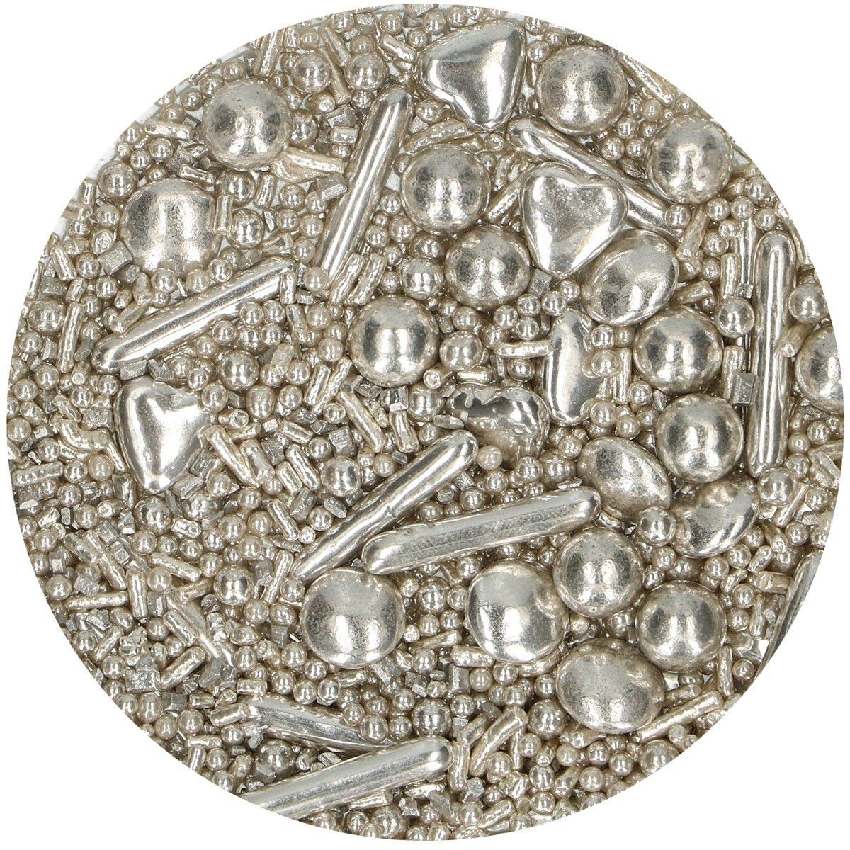 Streudeko Sprinkle Medley Silber | 65g