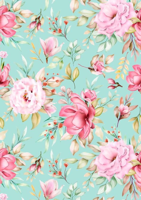 Wafer Paper / Oblatenpapier Blumen