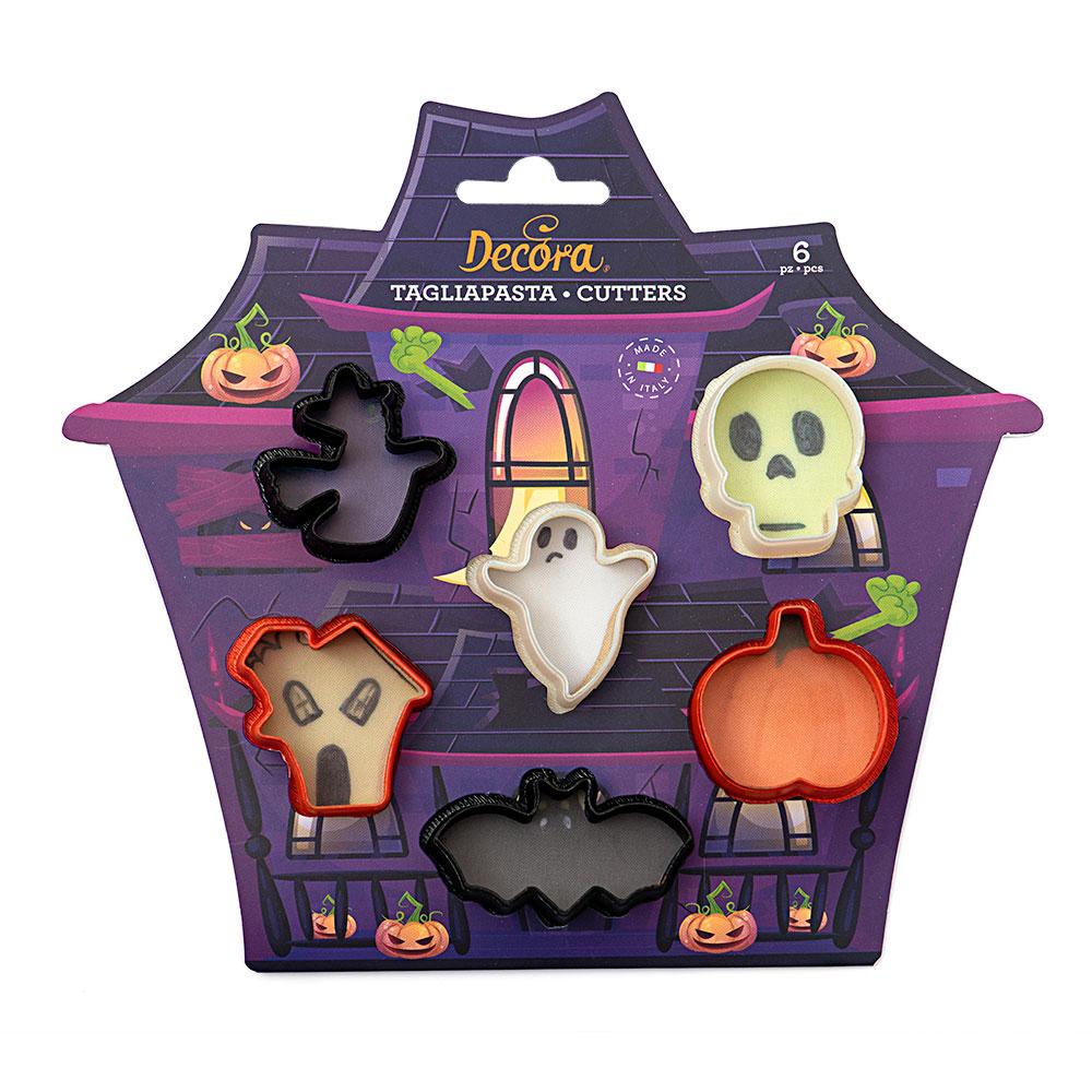 Ausstecher Set Halloween 6-teilig