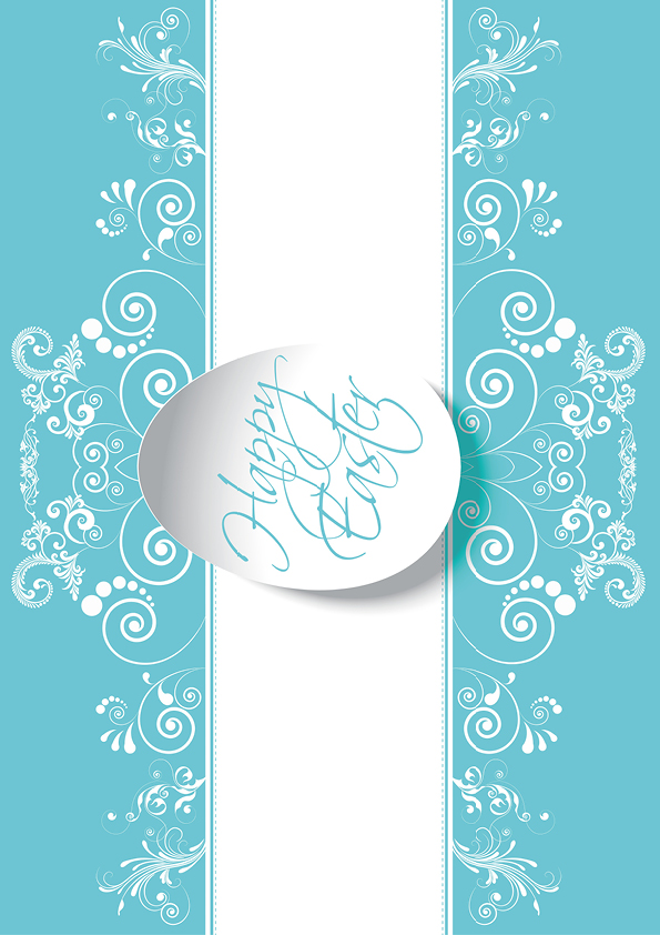 Rouladendekor Happy Easter