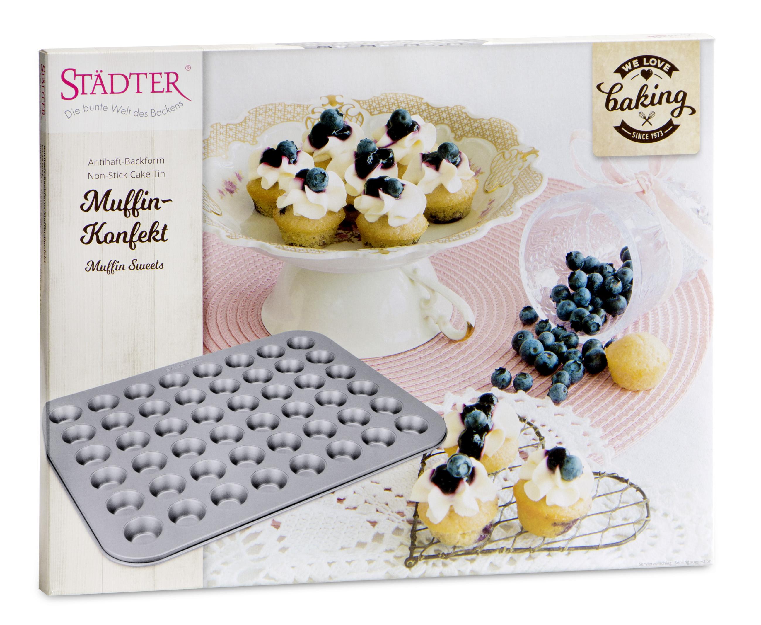 Muffin Konfekt Backblech