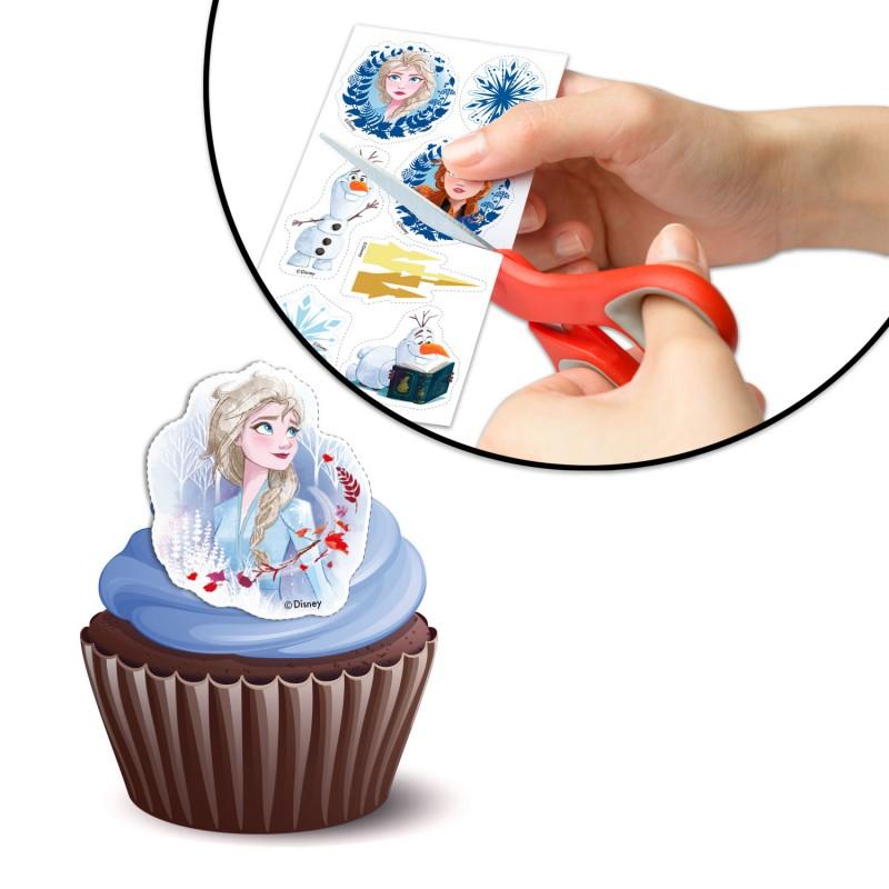 Frozen II Deko für Muffin
