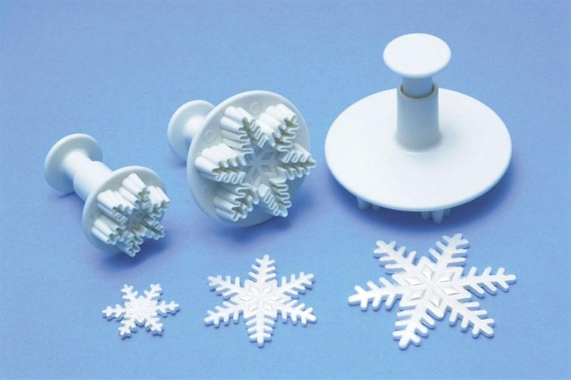 Ausstecher Schneeflocke
